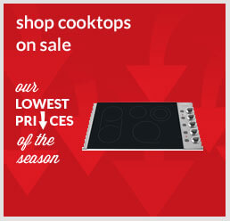 Shop cooktops on sale