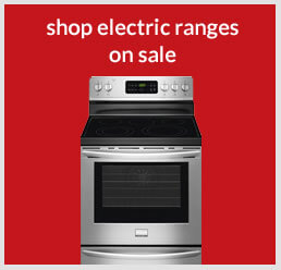 Shop electric ranges on sale