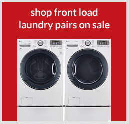 Shop front load laundry pairs on sale