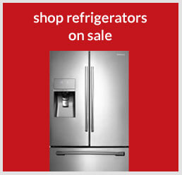 Shop refrigerators on sale