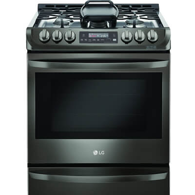 Freestanding Gas Ranges; Slide In Gas Ranges